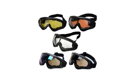 New Surfing Jet Ski Tactical Airsoft Glasses Sport Outdoor Motorcycle - orange 341370af-752a-457a-ae0a-90c88c5054fb