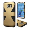 Insten Dynamic Hard Hybrid Case For Samsung Galaxy S7 Gold/black