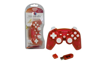Rock Candy Wireless Controller For Sony Playstation 3 Red 8b075602-38bf-4776-a97c-eea3f5f30491