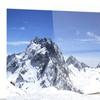 Panorama Caucasus Mountains Photography Metal Wall Art 28x12
