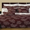 Cloverdale 11-Pc Bedding Set Reversible Cotton Duvet Cover & Sheet Set