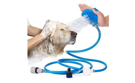 Dog Shower Sprayer Remove Hair Adjustable Glove, Indoor / Outdoor 274acab4-62e0-4709-8311-8055dbfa7b0e