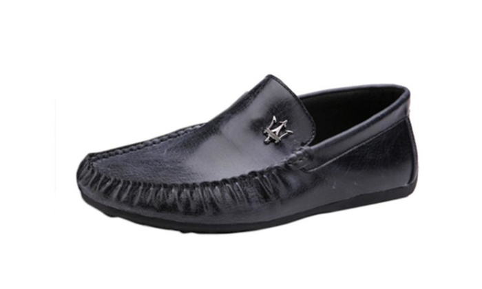 Men's Simple Casual Low Heel Loafers Shoes