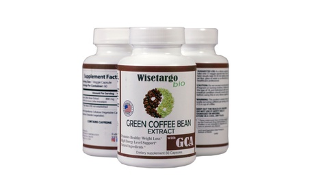 2 jar Green Coffee Bean Extract For Weight loss Appetite Suppressant