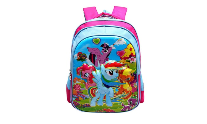 939646da877f Children Cute Cartoon Backpacks My Little Pony Backpack Schoolbag Bags