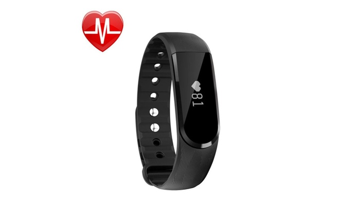 Fitness Tracker Watch, Bluetooth,Heart Rate,Waterproof Touch Screen