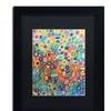 Sylvie Demers 'First Love' Matted Black Framed Art