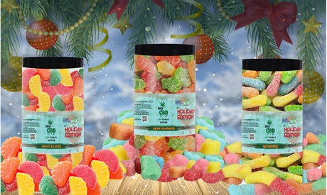 Holiday Special Edition High Strength CBD Gummies (3000MG)