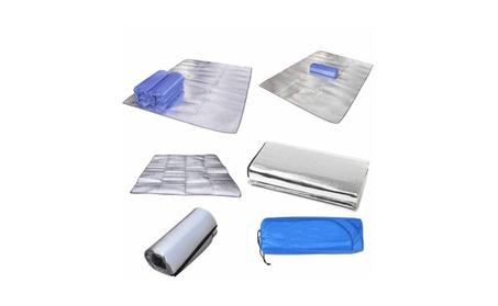 Aluminum Foil Picnic Grass Blanket Sleeping Mat Cushion Silver df682f31-1e11-464f-a04d-664514b16566