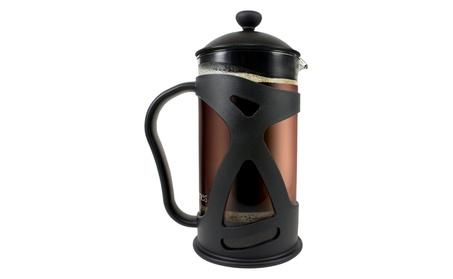 French Press Coffee Tea & Espresso Maker, Black 34oz 6dcb3e80-5129-4573-91bc-b87ab971a098