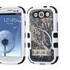 Insten Tuff Vines Hard Hybrid Case W/stand For Samsung Galaxy S3