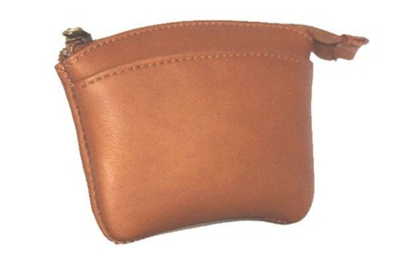 David King Co 439T Zip Coin Purse- Tan (Goods Women's Fashion Accessories Wallets) photo