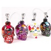 New Mini Glass, Hand Painted, Skull Hookah and Water Pipe