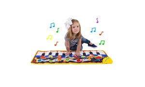 Piano Floor Playmat with Musical Keys for Kids