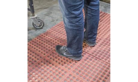 Buffalo Tools Red 3 x 3 Foot Interlocking Rubber Mats - 4 Pack 9ed0a9f5-b7e2-4299-830e-542f4c8256ab