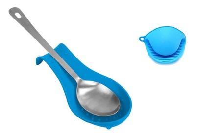 Kitchen Spoon Rest & Hygienic And Flexible Pot Grabber 85e0c726-4c0e-413f-a3bc-937f233baf62