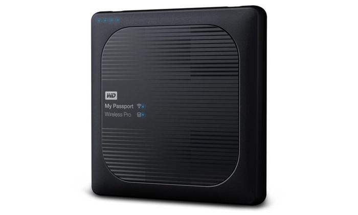 Wd My Passport Wireless Pro 3tb External Hard Drive
