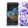Insten Tuff Romance Hard Case For Alcatel One Touch Fierce XL Purple