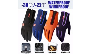 Winter Warm Bicycle Motorcycle Cycling Hiking Gloves Outdoor Sports Gloves