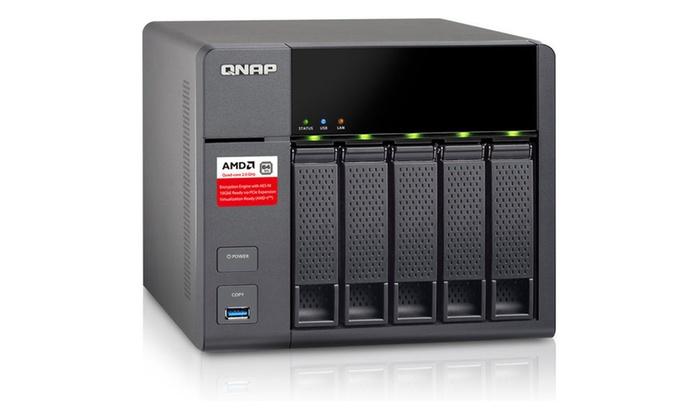 QNAP TS-563-2G-US 5-Bay Business NAS Enclosure