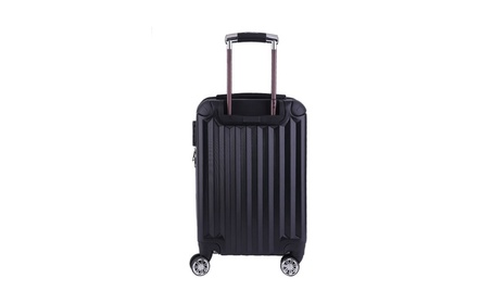 "20"" ABS Carry On Luggage Travel Bag Trolley Suitcase Expandable 1746659f-8925-4878-92f7-a841f825b593"