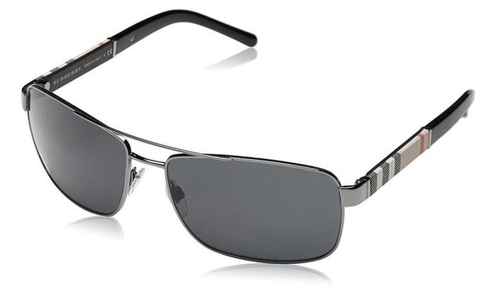 7c13240444 Burberry Sunglasses BE 3074 100387 Gunmetal 63mm