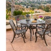 Covington Outdoor Cast-Aluminum Dining Furniture Set (5-Piece)
