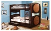 Hollywood Decor: Avon Twin Over Twin Bunk Bed In Basketball Design