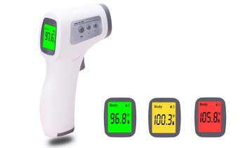 Infrared Forehead Thermometer Non-Contact Digital LCD Forehead Thermometer