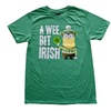 T-Shirt Despicable Me A Wee Bit Irish Sized St. Paddy'S Day
