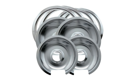 Range Kleen Style D Heavy Duty Drip Pans and Trim Rings photo