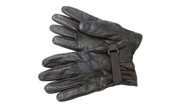 Giovanni Navarre® Solid Genuine Lambskin Leather Driving Gloves