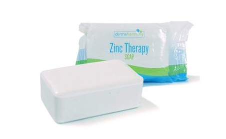 2% Pyrithione Zinc Znp Bar Soap Derma Harmony 4 Oz