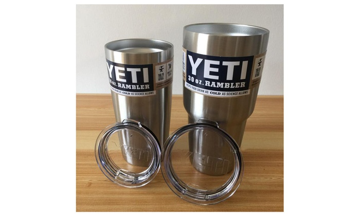 Yeti Coolers Stainless Steel Rambler Tumbler Cups
