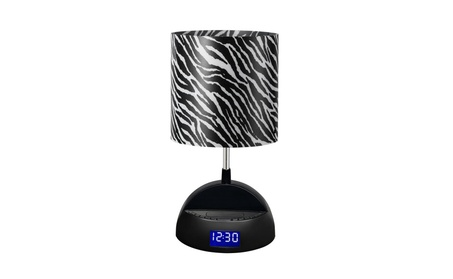 Bluetooth Speaker Lamp with Alarm Clock, FM Radio, USB Charging Port 20e1215d-b962-4e97-9f1e-690bf3ce11d5