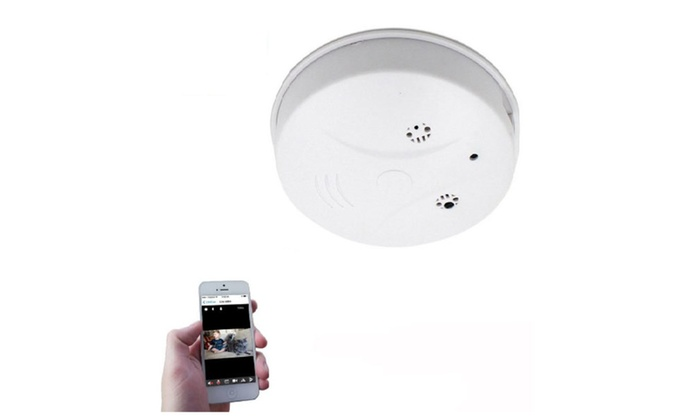 New Mini Hidden Camera Smoke Detector for Home Security
