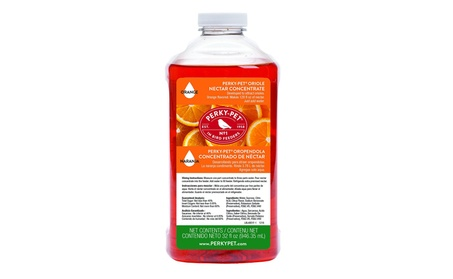 Woodstream Hummingbird 683949 Oriole Nectar Concentrate - Orange (Goods For The Home Patio & Garden Bird Feeders & Food) photo