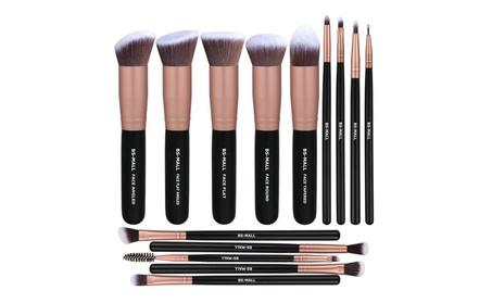Premium 14 Pcs Foundation Powder Concealers Eye Shadows Brush Sets cb8f5178-1f7d-494e-b6f0-b1fe5acdeaeb