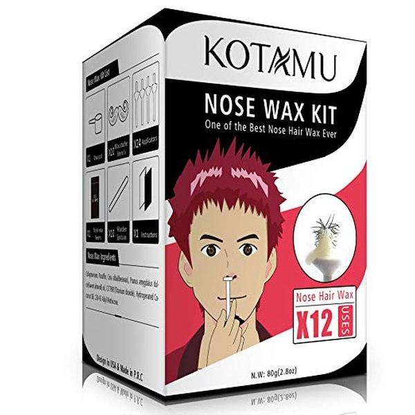 Up To 16 Off On Nose Wax Beans Kit Nose Hair Groupon Goods