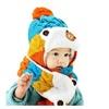 Winter Baby Kids Girls Boys Warm Woolen Coif Hood Scarf Caps Hats