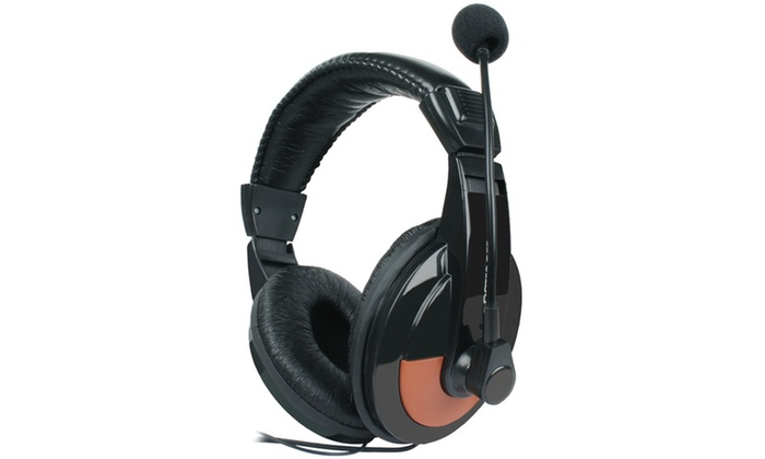 KOCASO HPCD-750 Multimedia Wired Stereo Headphones with Mic | Groupon