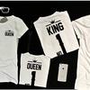 Unisex King Queen No.1 Crown Premium Shirt - Custom Oversized HD Graphics