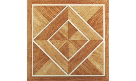 "twelve square tile 12 HICKORY Wood Parquet Flooring  9/"" x 9/"" x 3//4/"" square .."