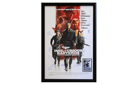 Inglorious Basterds - Signed Movie Poster db795d5f-64ca-4260-b022-7658aee063c8