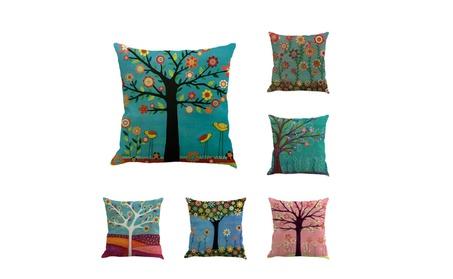 Tree and Birds Decorative Throw Pillow Case Cushion Cover Pillowcase 6490ea8b-68b5-438a-aab9-5385bab9fab3