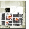 Abstract Flower II by Miguel Paredes - 35 x 35