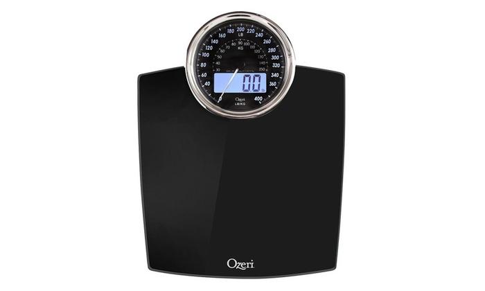 Ozeri Zb19 Rev Digital Bathroom Scale With Electro Mechanical