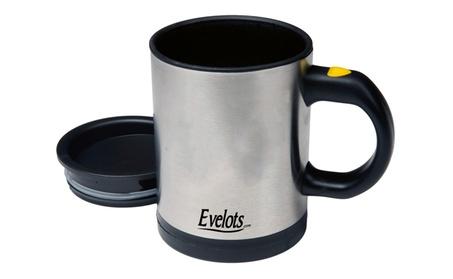 Evelots 1 Or 2 Pack Press Button Battery Operated Self Stirring Mugs ac728376-c5de-4901-b9da-eeaef1b6c13d
