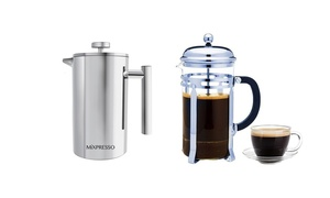 Mixpresso French Press Coffee Maker (8-Cup)