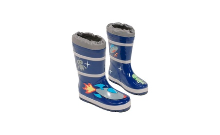 Kidorable Kids Seasonal Wear Space Hero Rain Boots 4e742f00-7eef-49d2-a3c8-2299f6d62f96
